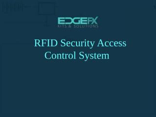 RFID Security Access Control System.pptx