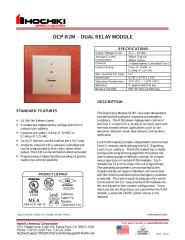 DCP-R2M  -  DUAL RELAY MODULE.pdf