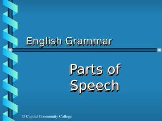 parts of Speech ppt.ppt