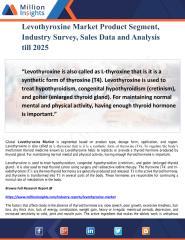 Levothyroxine Market Product Segment, Industry Survey, Sales Data and Analysis till 2025.pdf