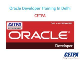 Oracle Developer Training In Delhi.pdf