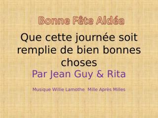Aldéa pour ta fête2.pps