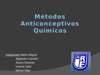 Metodos Anticonceptivos Quimicos.pptx