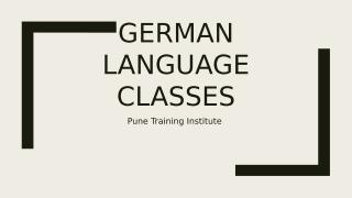 German Language Classes in PTI.pptx