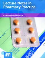 Lecture Notes in Pharmacy Practice.pdf
