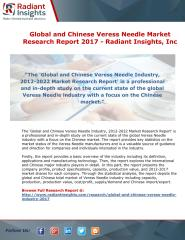 Global and Chinese Veress Needle Market Research Report 2017 - Radiant Insights.pdf