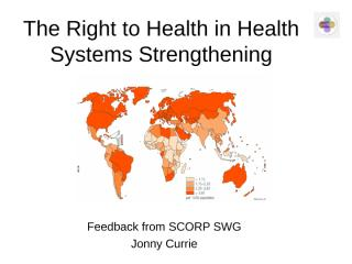 The Right to Health in Health Systems Strengthening.ppt