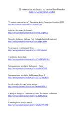 28 vídeo-aulas publicadas no site católico Montfort.doc