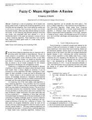 Fuzzy C- Means Algorithm- A Review.pdf