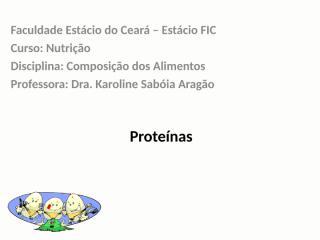 Proteinas nos Alimentos.ppt