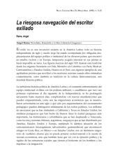 1978 - La riesgosa navegación del escritor exiliado.pdf