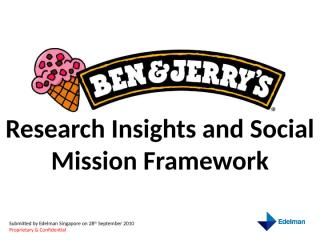 B&J research insights and social mission framework revised 30 Sept.pptx