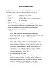 Teknik Self Management.docx
