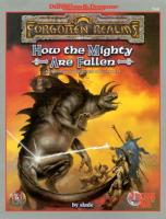 AD&D - Forgotten Realms - Adventure - How the Mighty are Fallen.pdf