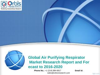 Global Air Purifying Respirator Market.ppt
