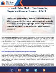 Harmonic Drive Market Size, Share, Key Players and Revenue Forecast till 2025.pdf