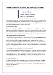Atlei - Importance of an Effective Test Strategy for GMAT.pdf