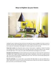 Ways to Brighten Up your Homes.pdf