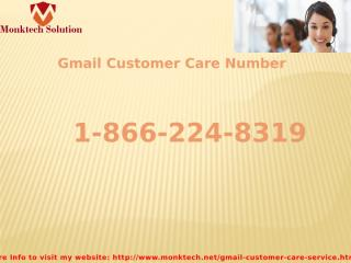 Gmail customer care number.pptx