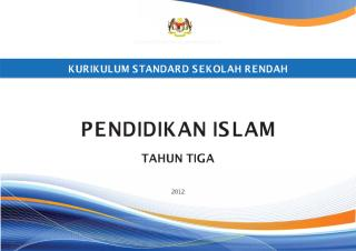 dokumen standard pendidikan islam tahun 3.pdf