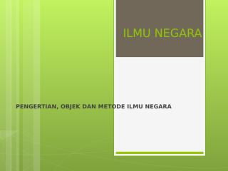 Hand Out ILMU NEGARA.ppt