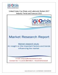 United States Eye Drops and Lubricants Market 2017 Applications, Regional Analysis, Key Players.pdf