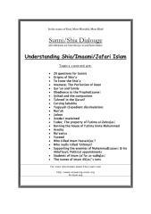 Shia Sunni Dialogue - AnsweringAnsar.pdf