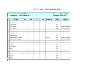 Asset accountability form- Kirby Dano.xls
