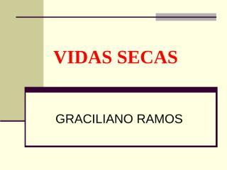 SLIDE DE VIDAS SECAS.ppt