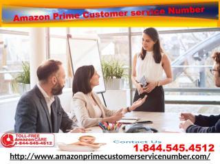 Get Proper Solution on Amazon Prime Cancellation Amazon Prime Customer Service Number 1-844-545-4512.pdf