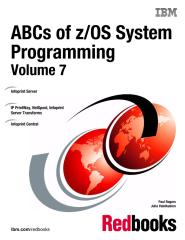 ABCs of zOS System Programming Volume 7.pdf