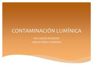 contaminación lumínica.pdf