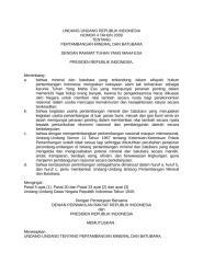 2009-04 Pertambangan, Mineral dan BatuBara.doc