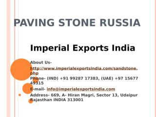 Paving Stone Russia.pptx