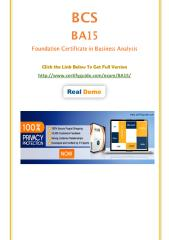 CertifyGuide BA15 PDF Questions With Authentic Answers.pdf